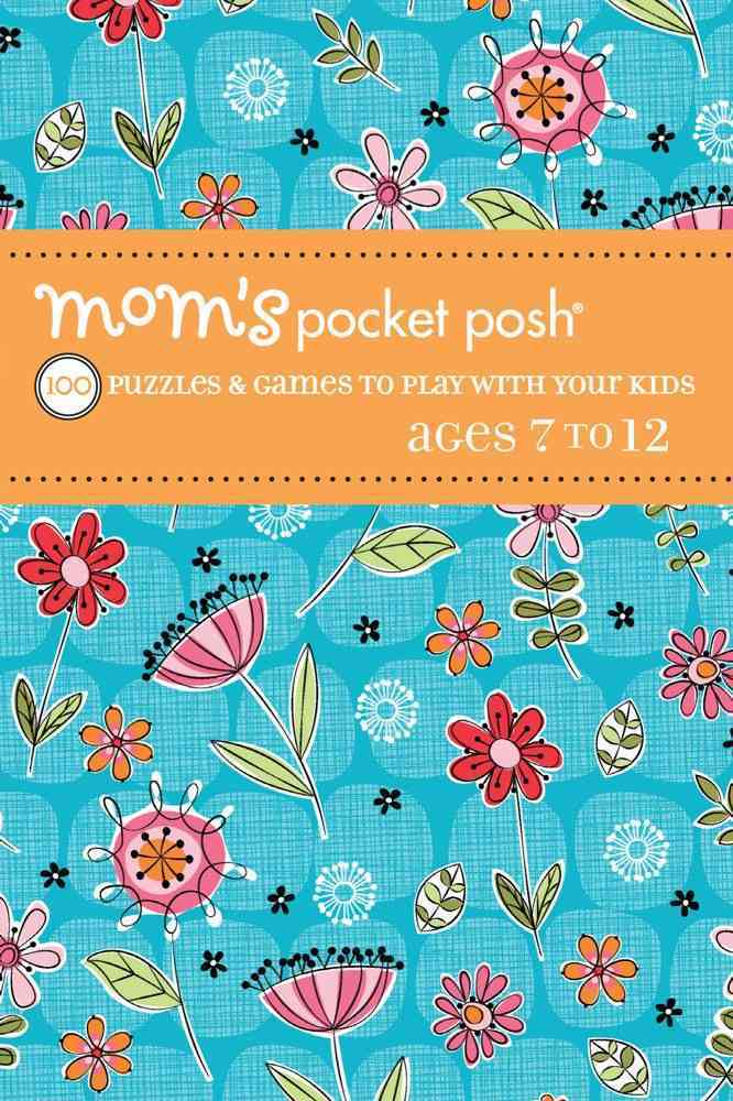 Mom's Pocket Posh Games to Play With Your Kids By Puzzle Society (COR)